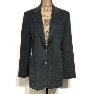 Lauren Ralph Lauren Plus Long Sleeve Button Blazer